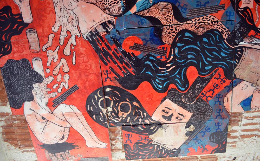 La batalla por el control de los cuerpos / Una obra libertaria / Byron Maher