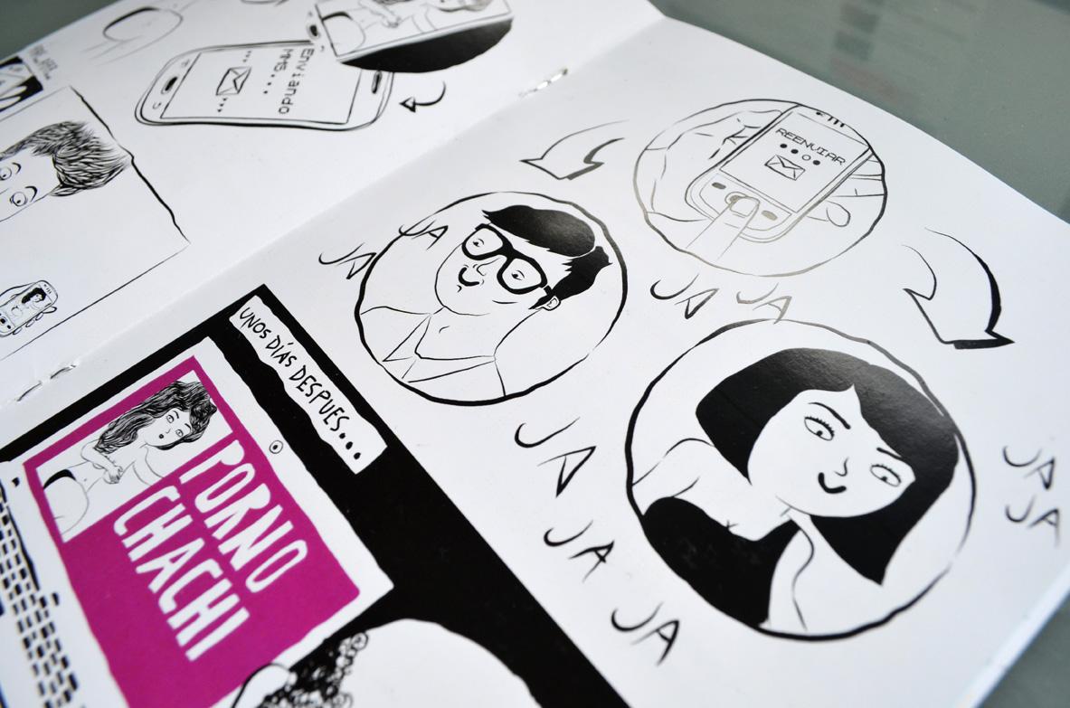 Maquetación, diseño, ilustraciones para la guía de CAVAS. Byron Maher