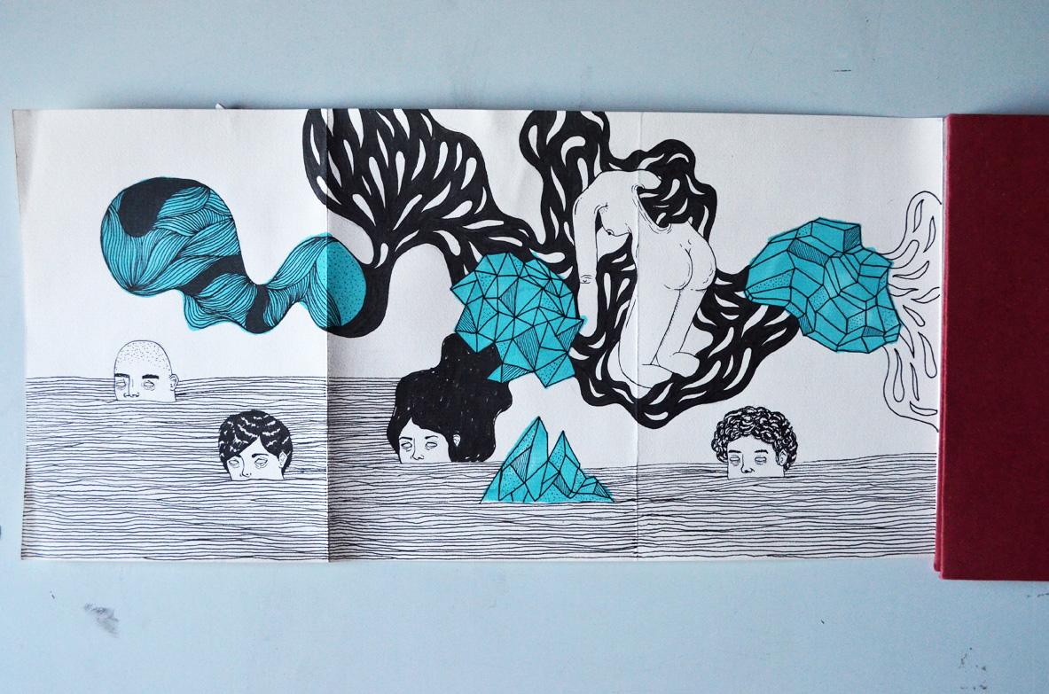 Dibujo, Byron Maher