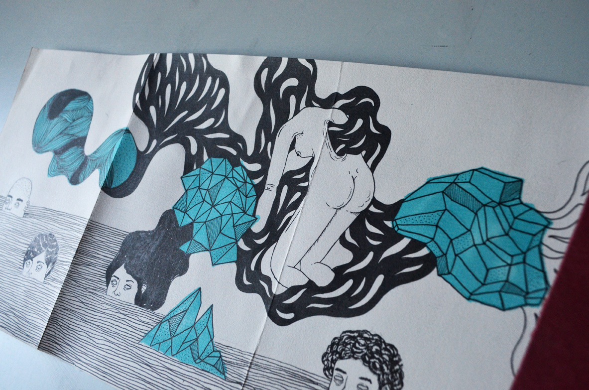 Dibujo, Byron Mahercro02