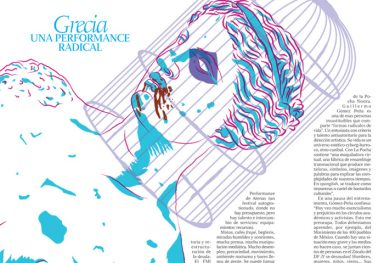 Cover for the CULTURAS supplement of Diagonal newspaper