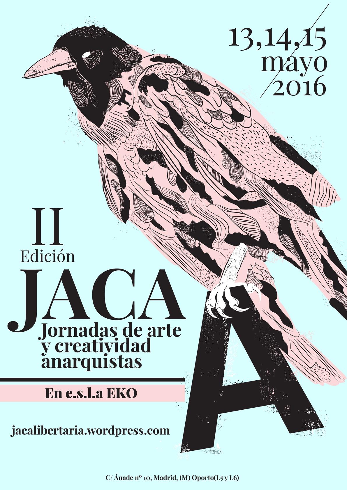 jaca libertaria 2016, ilustración, byron maher