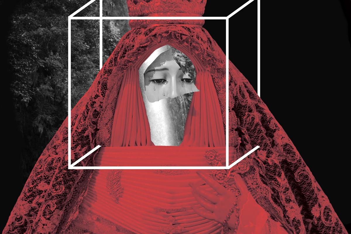 in, ni puta ni santa, patriarcado y concepto virginidad, arte, diseño, byron maher