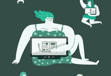 Illustrations in the BIT y aparte magazine
