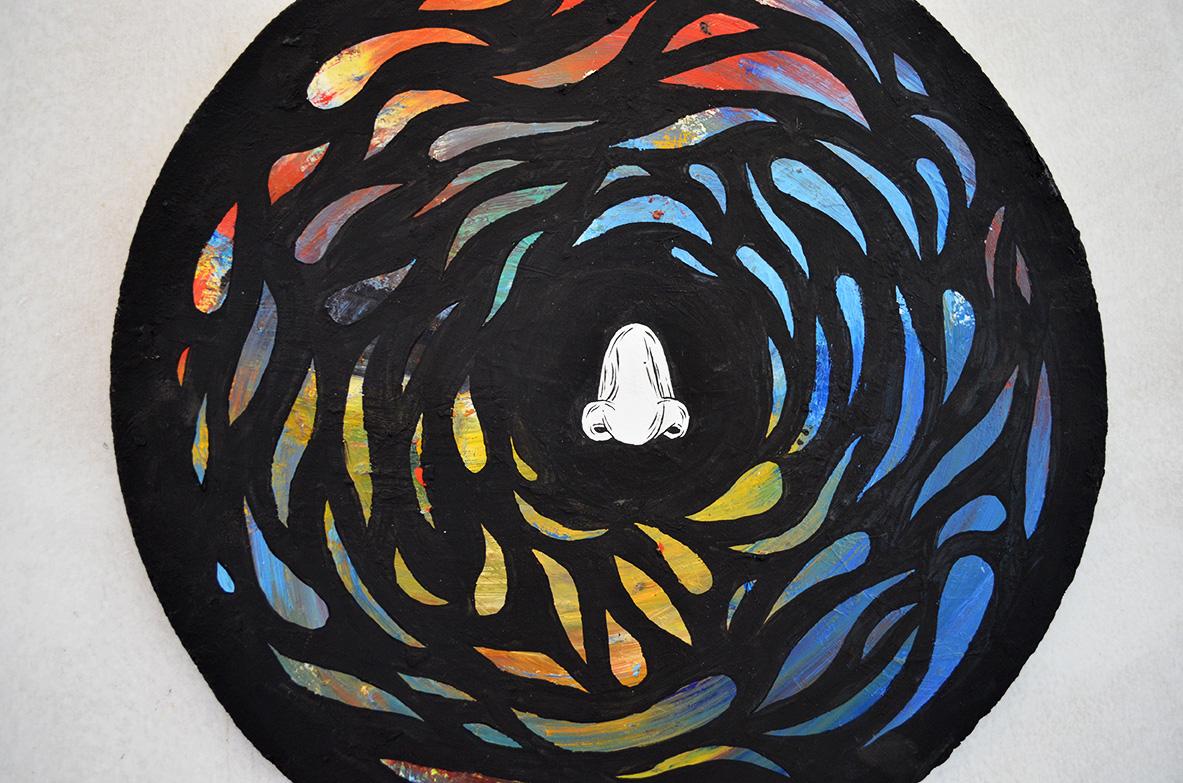Respirando tonalidades, pintura, Byron Maher