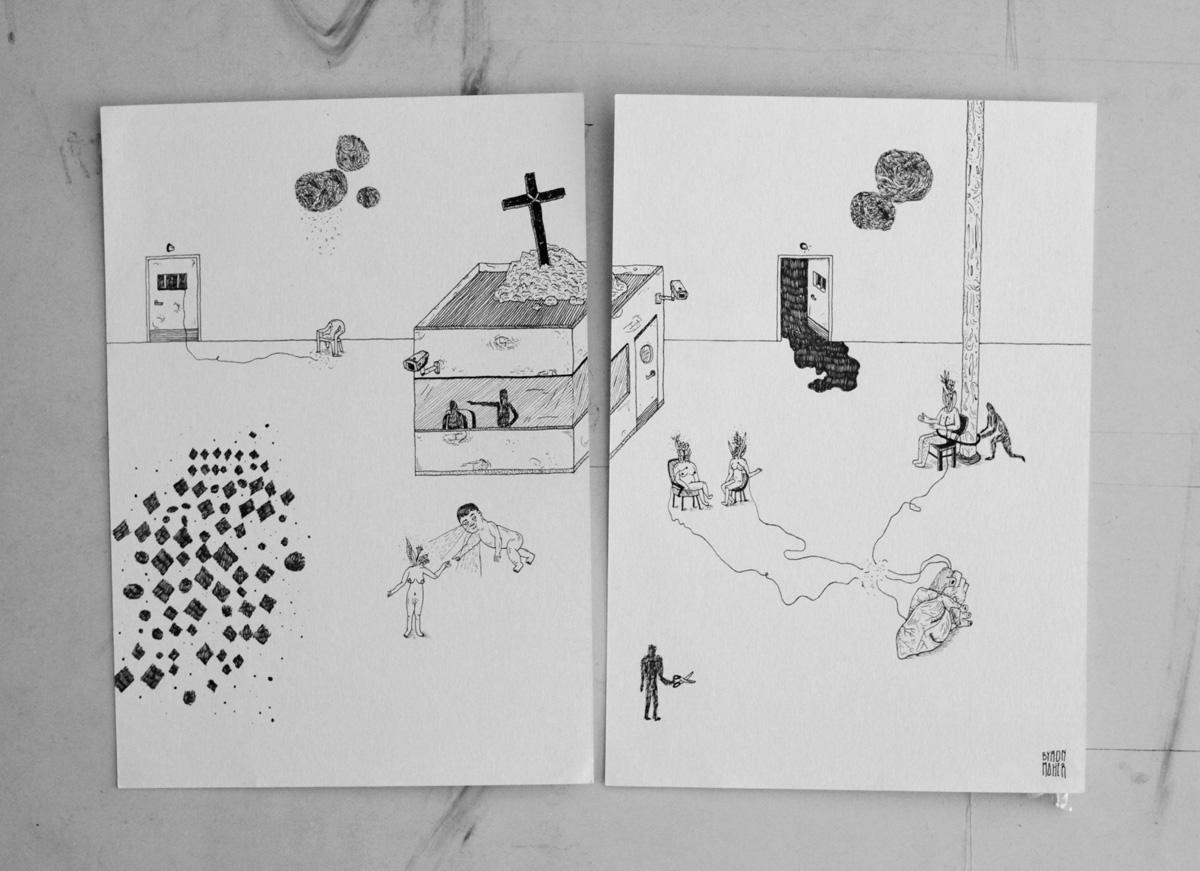 dibujo como acto de resistencia, dibujo, drawing, byron maher, colombia, pasto