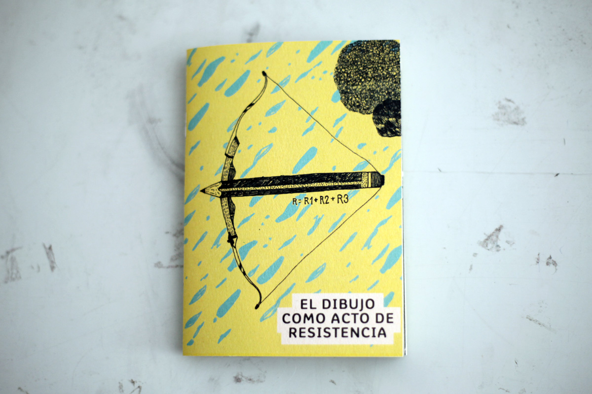dibujoActoResistencia, fanzine, design, drawing, editorial